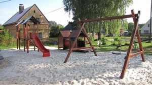 Revitalizované dětské hřiště